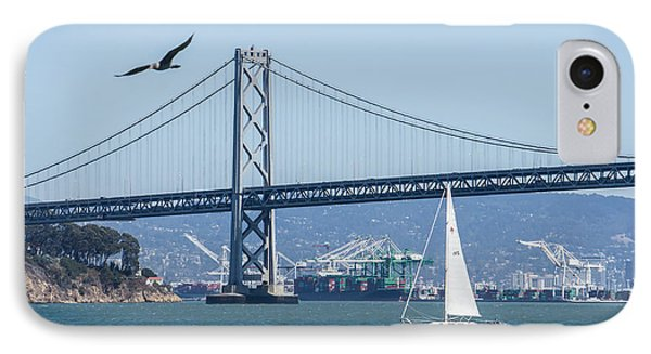 Bay Bridge IPhone Case by Diana Weir