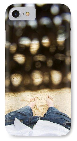 Beach Sleeper IPhone Case by Jorgo Photography - Wall Art Gallery