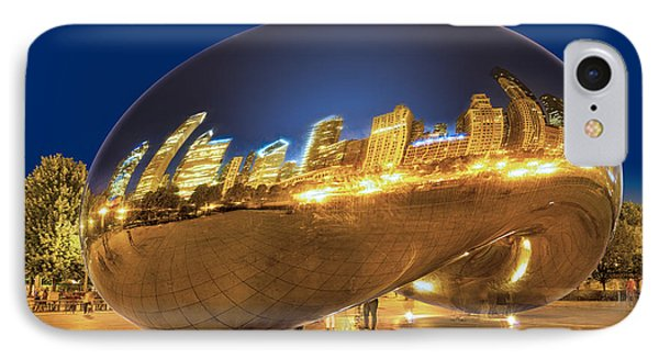 Bean Reflections IPhone Case by Donald Schwartz