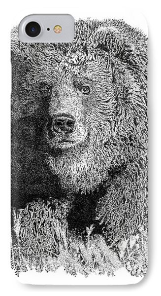 Bear 1 IPhone Case