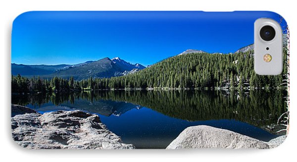 IPhone Case featuring the photograph Bear Lake Morning by Cathy Donohoue