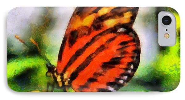 Beautiful Butterfly IPhone Case by Dan Sproul