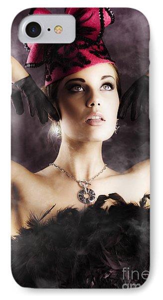 Beautiful Cancan Dancer IPhone Case