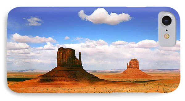 Beautiful Landscape Of  Monument Valley Arizona Phone Case by Katrina Brown