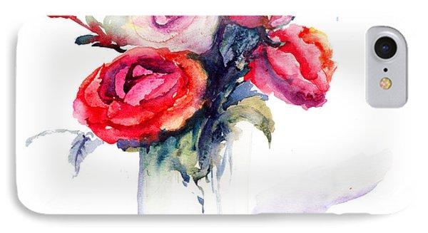 Beautiful Roses Flowers IPhone Case