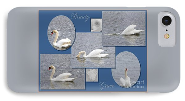 Beauty And Grace IPhone Case by Bobbee Rickard