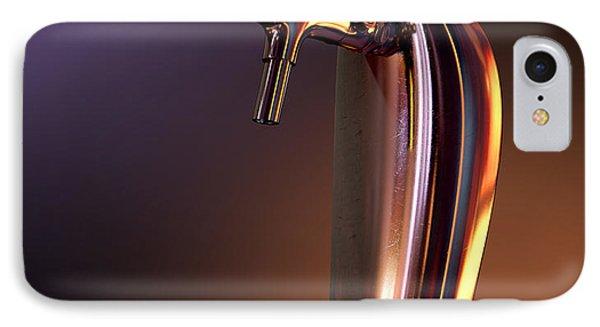 Beer Tap Single Moody IPhone Case by Allan Swart
