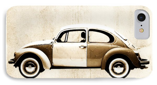 Beetle Car Phone Case by David Ridley