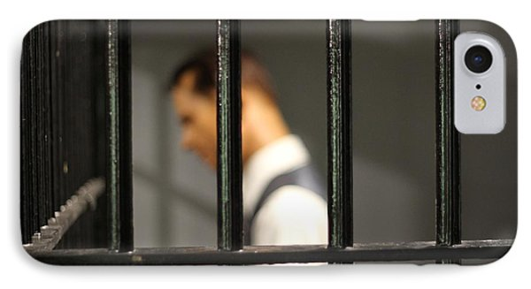 Behind Bars IPhone Case by Dan Sproul