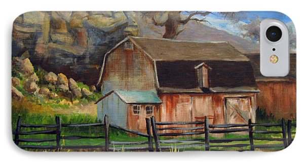 Bellvue Barn IPhone Case by Carol Hart