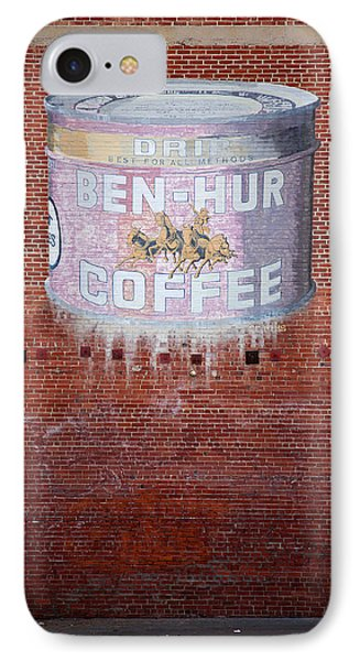 Ben Hur Coffee Phone Case by Peter Tellone