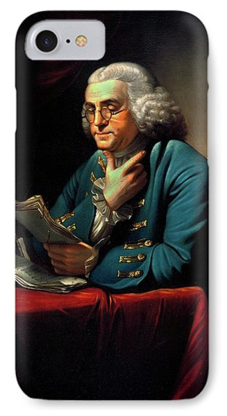 Benjamin Franklin IPhone Case by American Philosophical Society