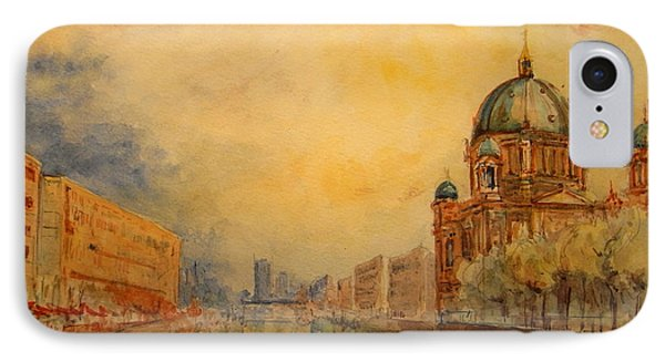 Berlin iPhone 7 Case - Berlin by Juan  Bosco