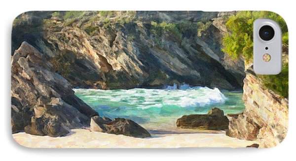 Bermuda Hidden Beach IPhone Case by Verena Matthew