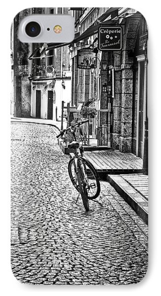 IPhone Case featuring the photograph Bicycle And Sparrow 2  by Elf Evans