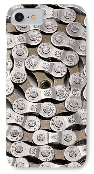 Bicycle Chain IPhone Case by Science Photo Library
