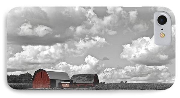 Big Sky Phone Case by Frozen in Time Fine Art Photography