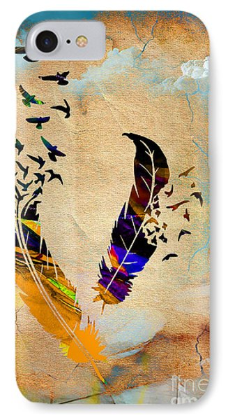 Birds Of A Feather IPhone Case by Marvin Blaine