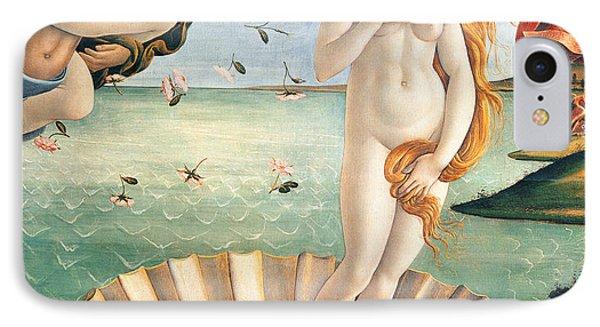 Birth Of Venus Phone Case by Sandro Botticelli