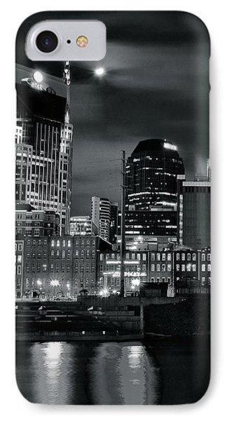 Black And White Nashville IPhone Case