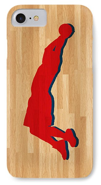 Blake Griffin Los Angeles Clippers IPhone Case by Joe Hamilton