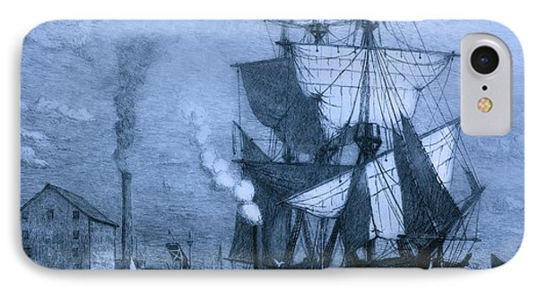 Blame It On The Rum Schooner IPhone Case