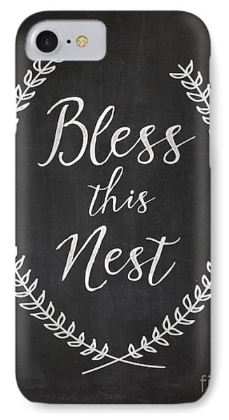 Bless This Nest IPhone Case by Natalie Skywalker