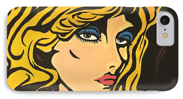 Blondie IPhone Case by Sheridan Furrer