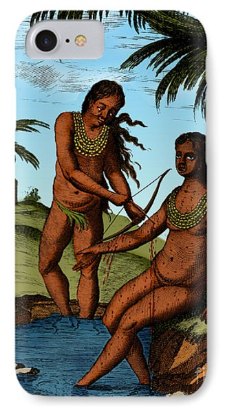 Bloodletting Native Central American Phone Case by Science Source