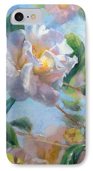 Blooming Flowers Phone Case by Nancy Stutes