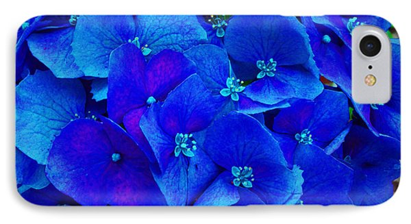 Blue Beauty Phone Case by Annette Allman