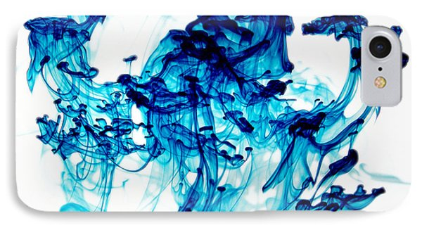 Blue Chaos IPhone Case