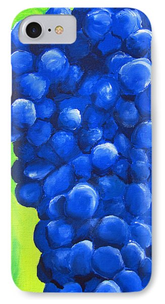 Blue Cluster Phone Case by Kayleigh Semeniuk