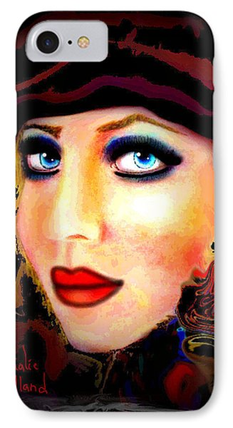 Blue Eyes Phone Case by Natalie Holland