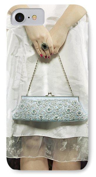 Blue Handbag Phone Case by Joana Kruse