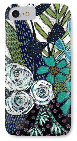 Blue IPhone Case by Lisa Noneman