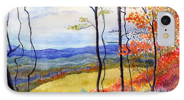 Blue Ridge Mountains Of West Virginia IPhone Case by Katherine Miller