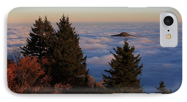 Blue Ridge Parkway Sea Of Clouds IPhone Case by Mountains to the Sea Photo