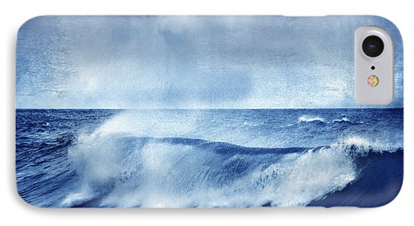 Blue Wave Phone Case by Guido Montanes Castillo