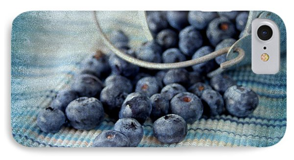 Blueberries IPhone Case by Darren Fisher