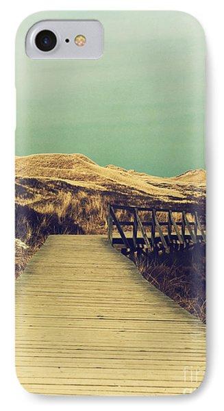 Boarded Walkway IPhone Case by Angela Doelling AD DESIGN Photo and PhotoArt