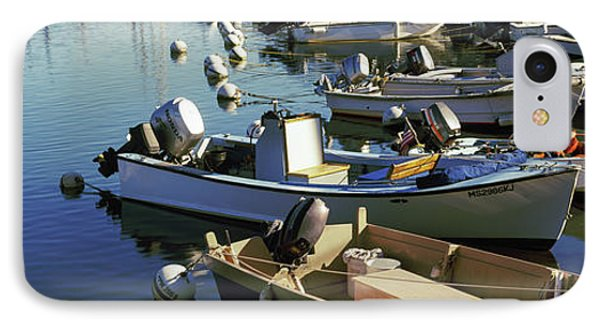 Boats At A Harbor, Provincetown, Cape IPhone Case by Panoramic Images