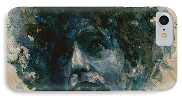 Bob Dylan IPhone 7 Case by Paul Lovering