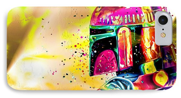 Boba Fett Star Wars IPhone Case by Daniel Janda