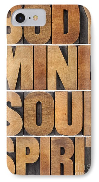 IPhone Case featuring the photograph Body Mind Soul And Spirit by Marek Uliasz