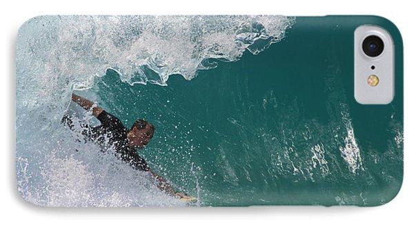 Bodysurfing IPhone Case