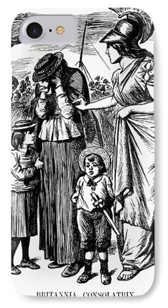 Boer War Cartoon, 1899 IPhone Case by Granger