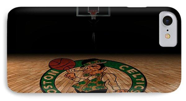 Boston Celtics IPhone Case by Joe Hamilton