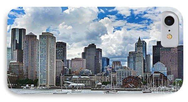 Boston Harbor Phone Case by Julia Springer