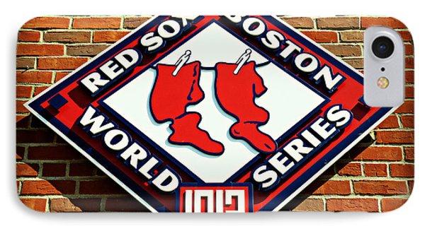 Boston Red Sox 1912 World Champions Phone Case by Stephen Stookey